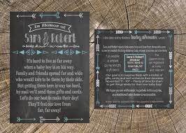 long distance baby shower boy chalkboard 5x7 invitation and