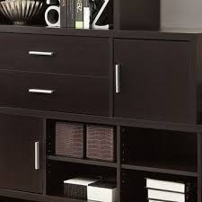 monarch specialties hollow core left or right facing step bookcase