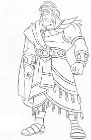awesome king saul coloring page netart