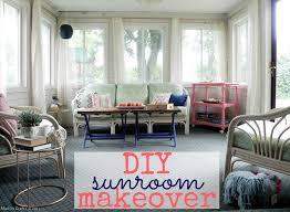 diy sunroom makeover reveal