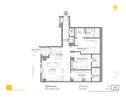 The Parc Condo Floor Plan by 3rd Floor Estates At Parc