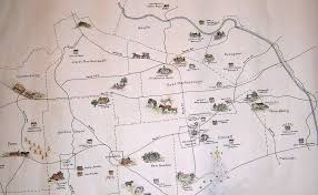 Chester Pa Map Kennett Square And The Underground Railroad