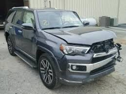 wrecked toyota trucks for sale salvage toyota 4runner cars for sale and auction