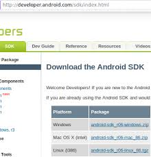 developer android sdk index html papers ch android development and more