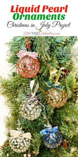 diy scented ornaments in july ornaments