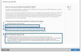 apple itunes help desk apple idfa guidelines how to submit your ios app with idfa help