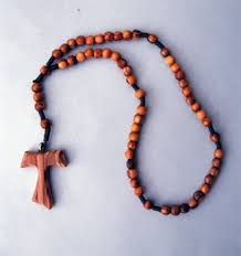 wooden rosaries made olive wood tau cross rosary wooden rosary buy wood