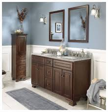 Bathroom Mirror Lighting Ideas Colors Bathroom Design Blue Painting Bathroom Wooden Solid Dresser Bath