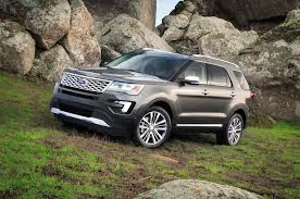 ford explorer vs chevy tahoe 2016 ford explorer platinum test motor trend