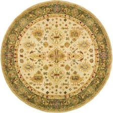 Round Tropical Area Rugs Round Area Rugs Rugs The Home Depot