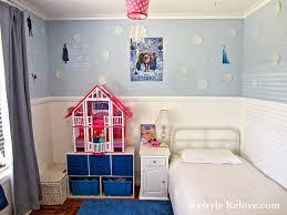 little girls disney frozen bedroom