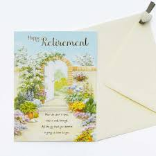 words for retirement cards words of warmth retirement card garlanna greeting cards