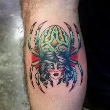 diamond tattoo neo traditional neo traditional spider lady by chelcie dieterle at diamond state