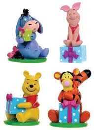 winnie the pooh cake topper disney collectables 4 winnie pooh cake toppers