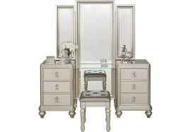 Pine Vanity Table Sofia Vergara Paris Silver 2 Pc Vanity Set Accent Pieces Colors