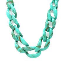 chain link necklace chunky images Chunky acrylic chain link short necklace usjewelryhouse jpg
