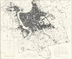 Map Of Metro In Rome by Historical Plan Map Rome U2022 Mapsof Net