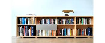 bookcase low wood bookshelf saltire low wooden bookcase small