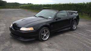 1999 mustang black 1999 ford mustang svt cobra roush convertible for sale
