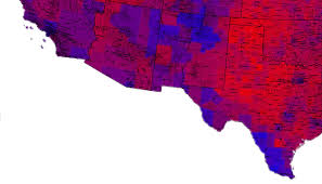 Election Map 2012 by 2012 Pres Election Result Map By County Lgf Pages