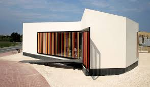 home architecture design sles gallery of sales and management office for sol de rojales housing