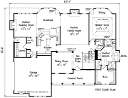 House Plans With Keeping Rooms Montaigne House Floor Plan Frank Betz Associates