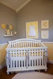 Yellow And Grey Nursery Decor Stella 4 Baby Crib Bedding Set By The Peanut Shell Image