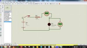 how to connect voltmeter u0026 ammeter in a circuit proteus