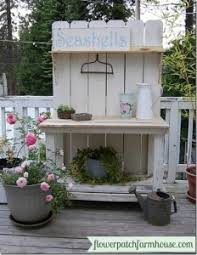 Plant Bench Plans - 10 easy potting bench plans