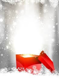 shiny christmas background with gift box vector free download
