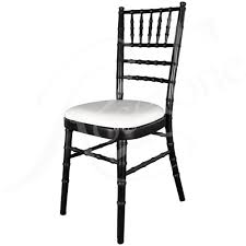 black chiavari chairs black chiavari chair with choice of seat pad