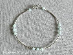 silver bead bangle bracelet images Green swarovski crystals elegant sterling silver curve tubes jpg