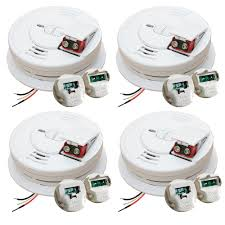 Install Smoke Detector Kidde 120 Volt Hardwired Front Load Smoke Alarm With Adapter