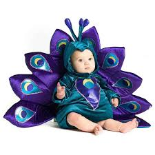 halloween costumes babies baby peacock infant halloween costume walmart com