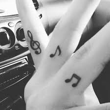 the 25 best small music tattoos ideas on pinterest music note