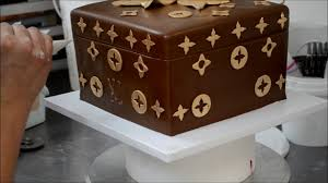 Louis Vuitton Cake Decorations How To Make Louis Vuitton Cake Youtube