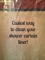 90 Inch Shower Curtain Clean Your Shower Curtain Liner Effortlessly Yes This Hack Works