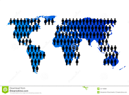 Population World Map by World Map World Population Stock Images Image 31873414