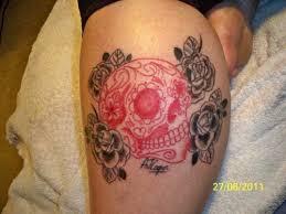 17 best feminine skull tattoos ideas images on