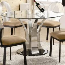 Glass Dining Room Furniture Glass Dining Room Table