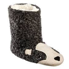 womens boot slippers canada george s badger bootie slippers walmart canada