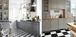 white kitchen cabinets black tile floor grey kitchen floor ideas builders surplus