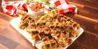 thanksgiving waffle recipe best mozzarella stick waffles recipe how to make mozzarella