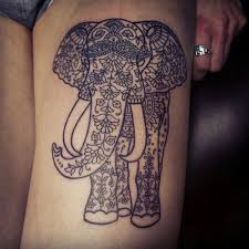 colorful elephant tattoo tattoo collections