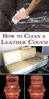 how to clean leather sofa with baking soda brew home