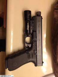 surefire light for glock 23 armslist for sale glock 17 gen 4 w threaded barrel and surefire