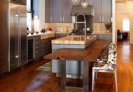 cuisine avec ilot table cuisine ouverte avec ilot 3 ilot central cuisine avec table