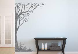 twine corner tree wall decal floral vinyl