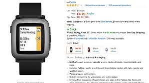 amazon app store black friday deal get a pebble time for just 89 95 on amazon