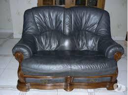lambermont canapé salon cuir gris canapé clasf